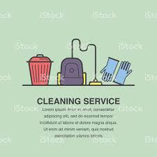 cleaning service banner design for advertisement stock vector art cleaning service banner design for advertisement royalty stock vector art