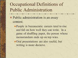 defining public administration ppt video online  occupational definitions of public administration