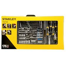 stanley 176 piece tool kit with carry