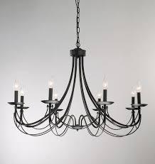 chandelier inspiring black metal fascinating pertaining to wrought iron chandeliers designs 10