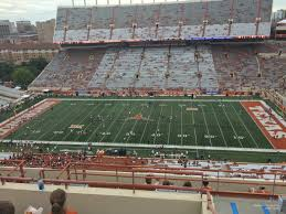 Texas Dkr Memorial Stadium Seating Chart Dkr Texas Memorial Stadium Section 127 Rateyourseats Com