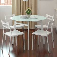 elegant small round white dining table white round table and chairs ikea starrkingschool