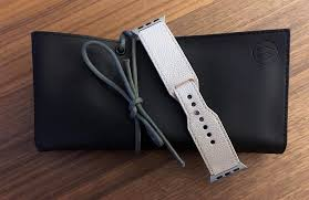 review monowear makes great accessories for the apple watch and i personally reviewed two of their bands not all that long ago and wear them frequently