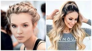 Stellen Sie Ihre Locken Mit Frisuren Für Langes Haar Zur Schau