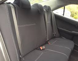 toyota camry car seat covers front pair hilux brochure