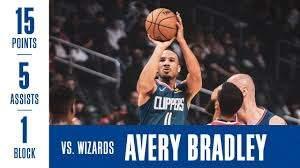Avery Bradley Highlights vs. Wizards ...