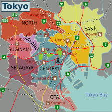 map of tokyo map of tokyo disneyland map of tokyo tourist attractions map