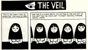 the veil as told by the girl who bought a copy of the complete  the veil as told by the girl who bought a copy of the complete persepolis for 15 on amazon com