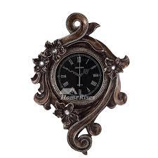 rustic large wall clocks modern