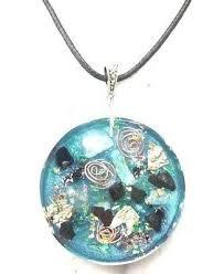 necklace orgone orgonite pendant