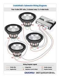 "gallery for car sound system diagram car audio pinterest car Mtx Thunder 6000 Wiring Diagram subwoofer wiring diagrams MTX Thunder 6000 10"" Subwoofer"