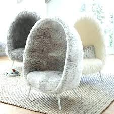 fuzzy chair target ivory faux fur cave scroll to previous item white vanity bean bag