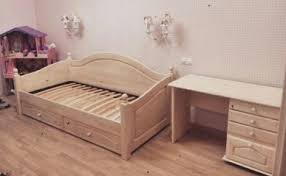 """Деревянная кровать-<b>диван</b> """"Лотос"""" БМ-2186 в магазине ..."""