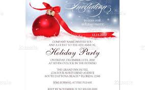 Company Christmas Party Invites Templates Holiday Party Invitation Template 650 406 Holiday Party