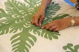 PATTERNS | Hawaiin Quilt Collection & Pattern Basting 2 Adamdwight.com