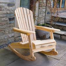 Outdoor Wooden Rocking Chair Popular Plans 2 Tables Pinterest In 4