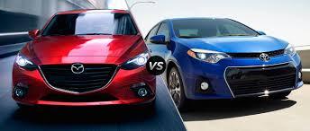 2015 Mazda3 vs. 2015 Toyota Corolla