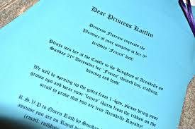 Frozen Birthday Invitation Wording Zoro Braggs Co