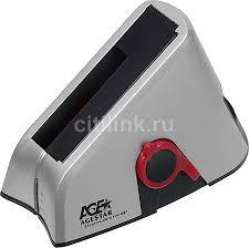 Купить <b>Док</b>-<b>станция</b> для HDD <b>AGESTAR</b> 3UBT, серебристый в ...