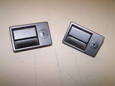 reatta buick reatta interior compartment latches pair