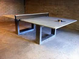 concrete ping pong table. Concrete Ping Pong Tops Table