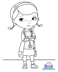 Doc Mcstuffins Coloring Pages To Print 2 Colors Of Pictures