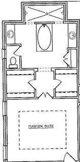 master suite layout that i love the tub doesnt have to be in front of a window walk in shower behind soaking tub