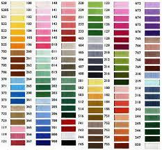 Conversion Chart To Pantone Valid Pantone Thread Color Chart