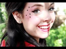 ladybug makeup costume