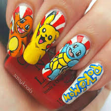 10 Pokemon Nails That Are Sure to Help You Catch 'Em All | Brit + Co