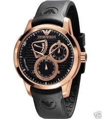 new emporio armani mens black rose gold watch ar4619 new emporio armani mens black rose gold watch ar4619
