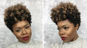Short Crochet Hair Style how to make a tapered cut crochet wig wcurlkalon 4327 by wearticles.com