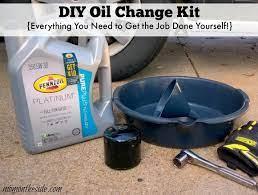 diy oil change kit