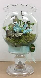 Small terrarium sample I made for A.C.Moore. Used E6000 glue to attach ivy  bowl