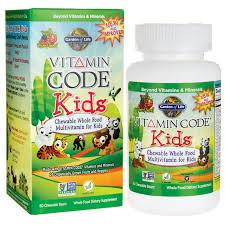 garden of life vitamin code multivitamin for kids