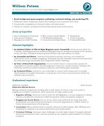 great sample writers resume media resume template
