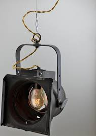 vintage theater pendant light fixture by scandalaskan
