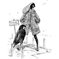 鳥人間21 オオツリスドリの工芸家ハートヘッドイラストnote