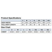 Harriton Size Chart Harriton Fleece Vest Promotional Crestline