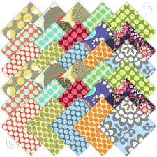 Amy Butler Home Decor Fabric Amy Butler Forever Amy Charm Pack Emerald City Fabrics