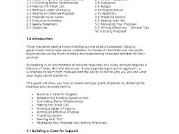 Executive Summary Sample For Proposal Sample Executive Summary For Business Plan Example Of An E A