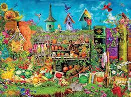 1067 x 800 jpeg 263 кб. Amazon Com Ceaco Aimee Stewart Hidden In The Garden Puzzle 1000 Piece Toys Games