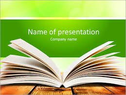 Powerpoint Background Book Open Book On Wood Planks Over Abstract Light Background Powerpoint Template Infographics Slides