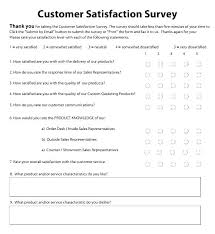example of questionnaire format customer satisfaction survey questionnaire template customer