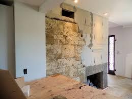 covering a fireplace with stone veneer eldorado stone