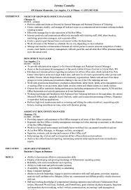 Examples Of Office Manager Resumes Box Office Manager Resume Samples Velvet Jobs 23