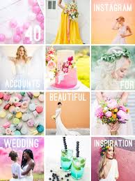 40 insram accounts to follow for beautiful wedding inspo