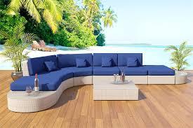 Sectional Sofa Patio Furniture Set 7