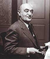"""Quote by Joseph Schumpeter : """"The first thing a man will do for his ideal  is lie"""""""