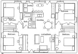Farmhouse Plans  Bedroom House Plans Bedroom House Plans